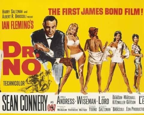 Dr No James Bond poster
